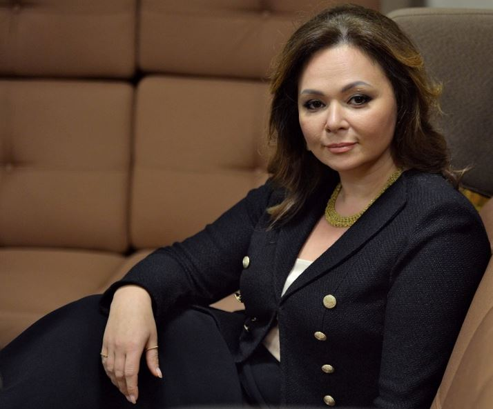 a379fed29817 Russian lawyer Natalia Veselnitskaya listens during an interview in.  Moscow, Russia November 8, 2016. Picture taken November 8, 2016.